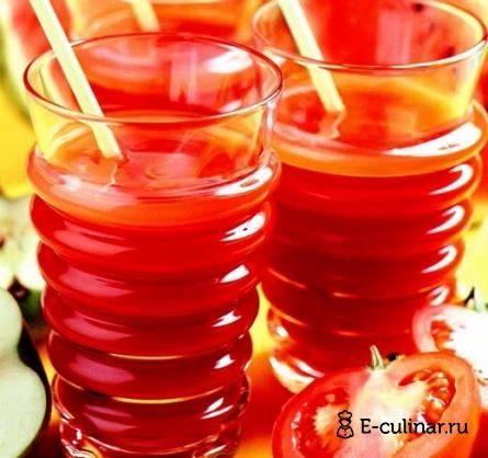 Готовое блюдо Арбузно- томатный коктейль