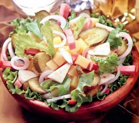 Готовое блюдо Салат дачный