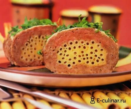Готовое блюдо Мясная запеканка с макаронами