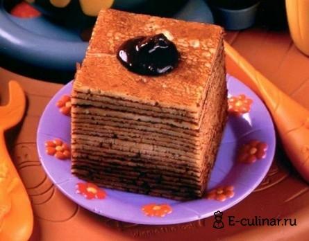 Готовое блюдо Блинный десерт