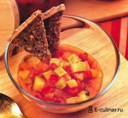 Готовое блюдо Соус с кабачками