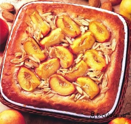 Готовое блюдо Быстрый летний пирог