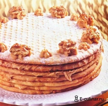 Готовое блюдо Торт «Медовик»