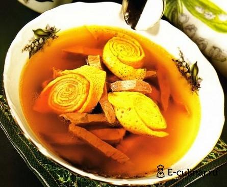 Готовое блюдо Суп «Панадель»