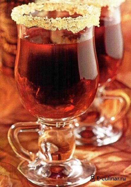 Готовое блюдо Горячий смородиновый коктейль