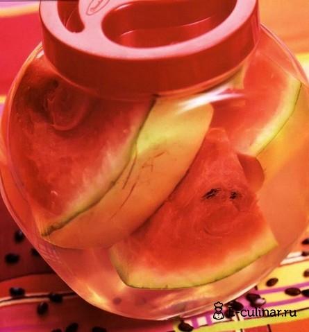 Готовое блюдо Маринованные арбузы