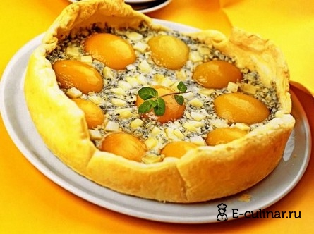 Готовое блюдо Персиковый флан