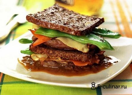 Готовое блюдо Говядина «Бавария»