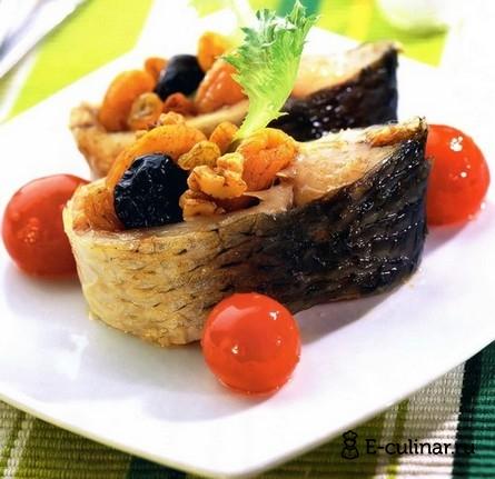 Готовое блюдо Рыба по-арабски