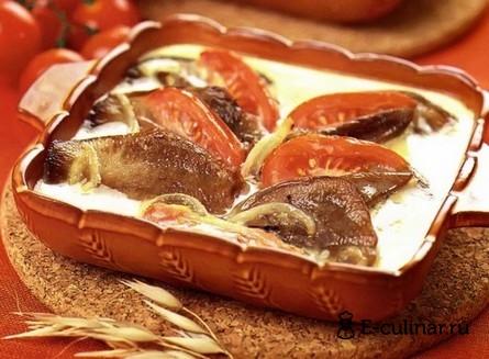 Готовое блюдо Язык говяжий по-крымски