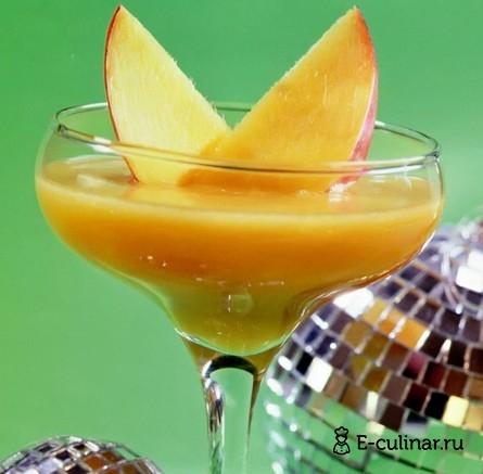 Готовое блюдо Коктейль «Новогодний поцелуй»