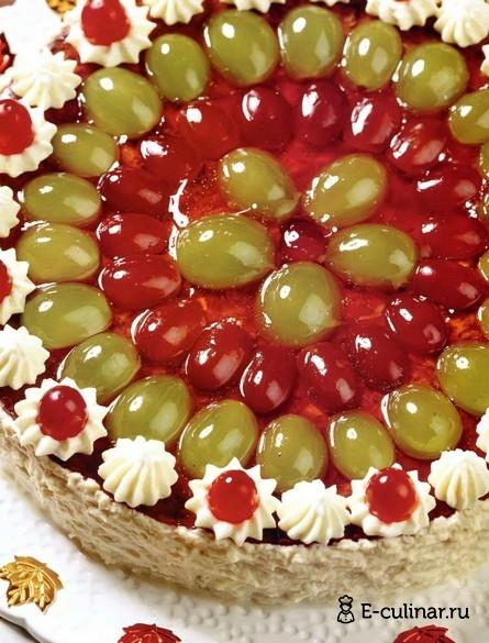 Готовое блюдо Паштет из утки с виноградом