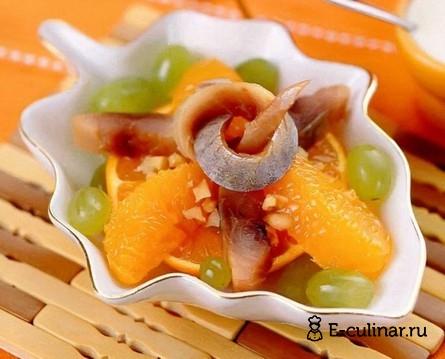 Готовое блюдо Cалат «Зимняя сказка»