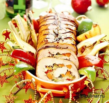 Готовое блюдо Тушеная свиная корейка