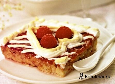 Готовое блюдо Десерт «Два сердца»