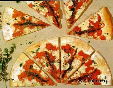 Готовое блюдо Пицца Наполетана