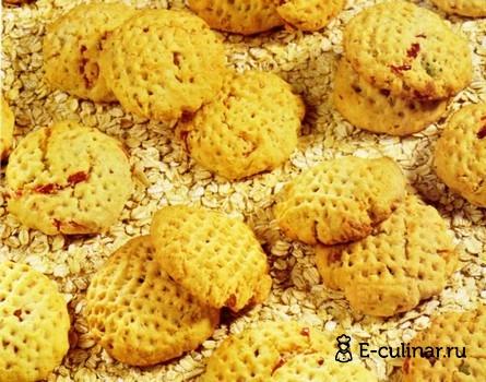 Готовое блюдо Овсяное печенье