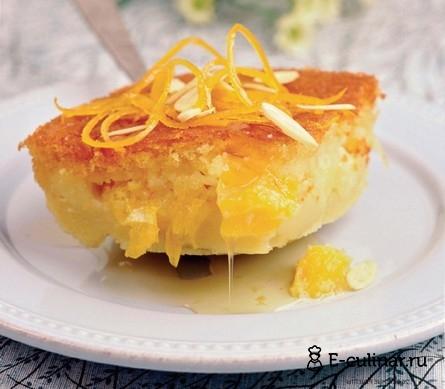 Готовое блюдо Апельсиновый пудинг