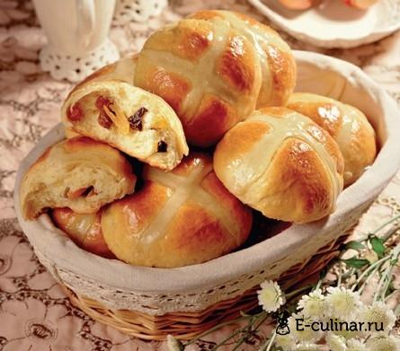 Готовое блюдо Пасхальные булочки