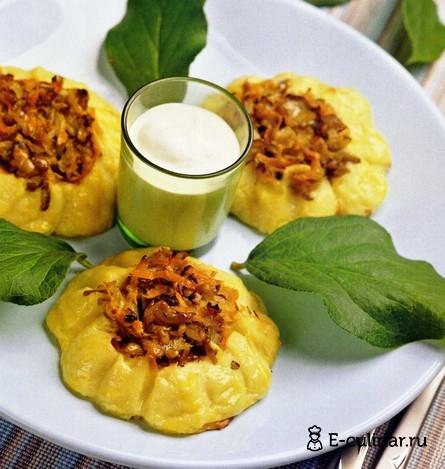 Готовое блюдо Закуска «Подсолнухи»