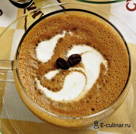 Готовое блюдо Крем «Кофе со сливками»