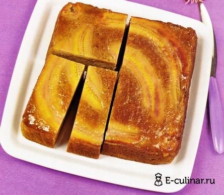 Готовое блюдо Банановый пирог