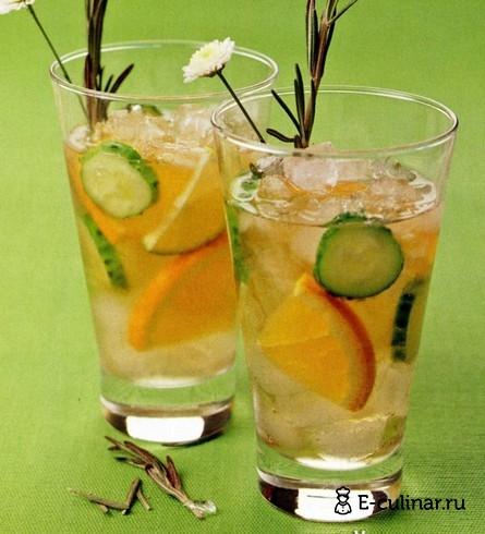 Готовое блюдо Огуречный лимонад