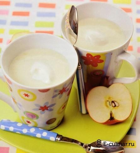 Готовое блюдо Яблочно- молочный кисель