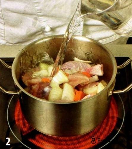 Крем-суп из курицы - фото шага 2
